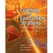 Crafting and Executing Strategy:  The Quest for Competitive Advantage w/OLC/Premium Content Card