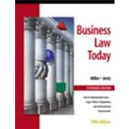 Buisness Law Today, Standard Edition : Text, Summarized Cases, Legal, Ethical, Regulatory, and International Environment with the Online Research Guide