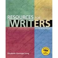 Resources for Writers, with Readings