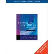 Aise-Probability and Statistics F/Engineering and Sci W/Cd