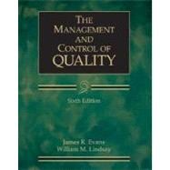 The Management and Control of Quality (with CD-ROM and InfoTrac)