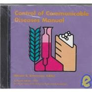 CONTROL OF COMMUNICABLE DISEASES MANUAL- CD PKG. only