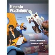 Forensic Psychology (with InfoTrac)