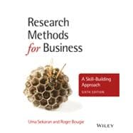 Research Methods for Business A Skill-Building Approach