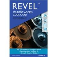 REVEL for Fundamentals of Organizational Communication  -- Access Card
