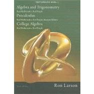 DVD for Larson�s Algebra and Trigonometry: Real Mathematics, Real People, 6th and Precalculus: Real Mathematics, Real People, Alternate Edition, 6th