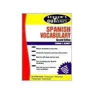 Schaum's Outline of Spanish Vocabulary