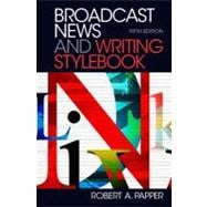 Broadcast News and Writing Stylebook, Fifth Edition