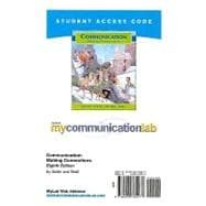 MyCommunicationLab Student Access Code Card for Communication (standalone)