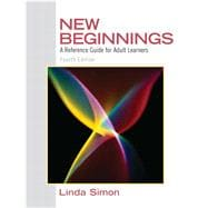 New Beginnings A Reference Guide for Adult Learners
