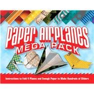 Paper Airplanes Mega Pack Instructions to Fold 4 Planes and Enough Paper to Make Hundreds of Gliders