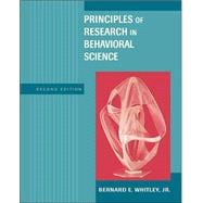 Principles of Research in Behavioral Science with Internet Guide and PowerWeb