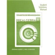 Student Solutions Manual for Aufmann/Lockwood's Prealgebra: An Applied Approach