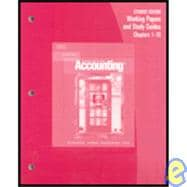 Accounting: Working Papers and Study Guides