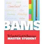 BAMS : The Essential Guide to Becoming a Master Student