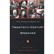 20th-Century Speeches, The Penguin Book of