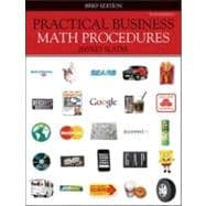 Practical Business Math Procedures, Brief Edition with Business Math Handbook, Student DVD, and WSJ insert