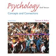 Psychology Concepts and Connections (Brief Version with Study Guide, CD-ROM, and InfoTrac)
