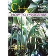 C++ HOW TO PROGRAM, 8/e