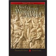 A Brief History Of The Western World: To 1715: Infotrac College Edition
