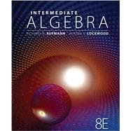 Student Solutions Manual for Aufmann/Lockwood�s Intermediate Algebra with Applications, 8th