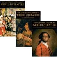 Longman Anthology of World Literature Volume II (D, E, F) The: The 17th and 18th Centuries, The 19th Century, and the 20th Century