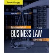 Cengage Advantage Books: Fundamentals of Business Law: Excerpted Cases, 2nd Edition