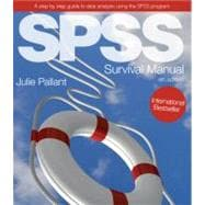 SPSS Survival Manual A step by step guide to data analysis using SPSS
