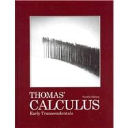 Thomas' Calculus Early Transcendentals with Student Solutions Manual, Multivariable and Single Variable with MyMathlab/MyStatsLab