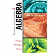 Elementary & Intermediate Algebra Graphs & Models