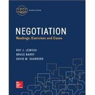 Negotiation: Readings, Exercises, and Cases, 7th Edition