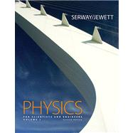 Physics for Scientists and Engineers, Volume 1, Chapters 1-22 (with CengageNOW 2-Semester, Personal Tutor Printed Access Card)