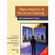 Data Analysis and Decision Making with Microsoft Excel, Revised (with CD-ROM and Decision Tools and Statistic Tools Suite)