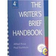 The Writer's Brief Handbook with MLA Guide