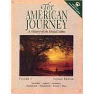 American Journey, The: A History of the United States, Volume I