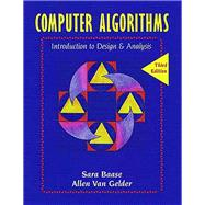 Computer Algorithms : Introduction to Design and Analysis