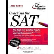 Cracking the SAT, 2003 Edition
