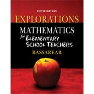 Explorations for Bassarear�s Mathematics for Elementary School Teachers, 5th