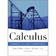 Calculus: Single and Multivariable, 4th Edition