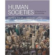 Human Societies An Introduction to Macrosociology