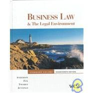 Business Law and the Legal Environment, Standard Volume