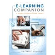 E-Learning Companion A Student�s Guide to Online Success