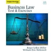 Cengage Advantage Books: Business Law: Text and Exercises, 6th Edition