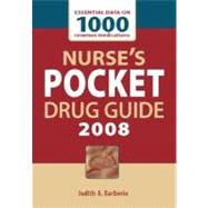 Nurse's Pocket Drug Guide 2008