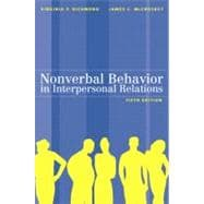 Nonverbal Behavior in Interpersonal Relations