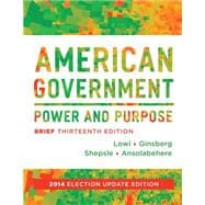 American Government: Power & Purpose