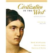 Civilization in the West, Volume 2 (since 1555) Value Package (includes Sources of the West : Readings in Western Civilization, Volume 2 (from 1600 to the Present))
