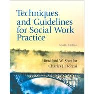 Techniques and Guidelines for Social Work Practice with MySocialWorkLab with eText -- Access Card Package