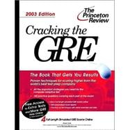 Cracking the GRE, 2003 Edition