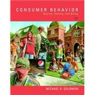 Consumer Behavior Buying, Having, and Being Plus MyMarketingLab with Pearson eText -- Access Card Package